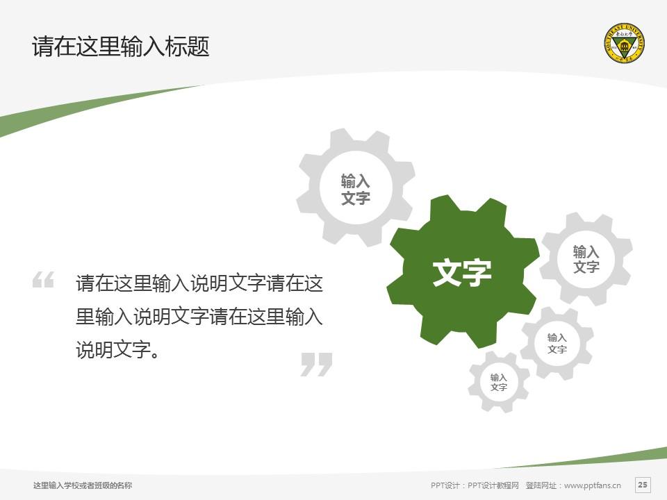 东南大学PPT模板下载_幻灯片预览图25