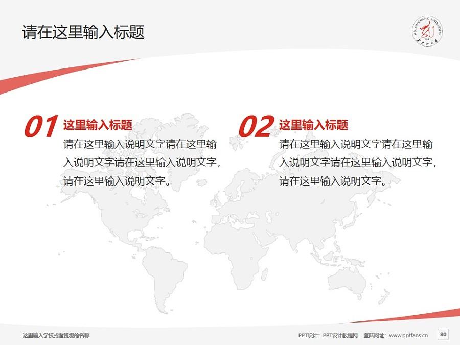 黑龙江大学PPT模板下载_幻灯片预览图29