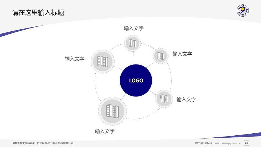 山东华宇职业技术学院PPT模板下载_幻灯片预览图26