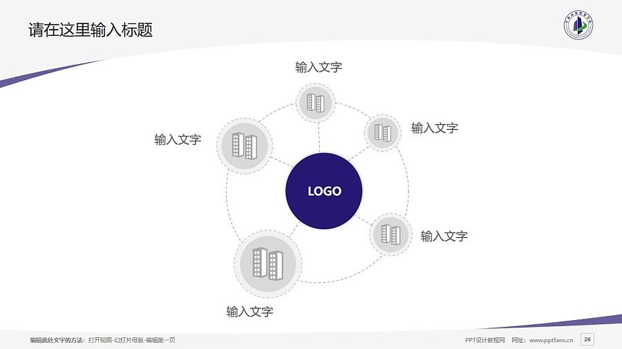 廣州華南商貿職業學院PPT模板下載_幻燈片預覽圖26