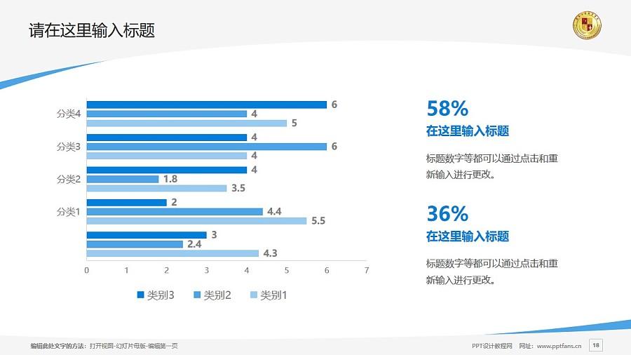 肇慶工商職業技術學院PPT模板下載_幻燈片預覽圖18