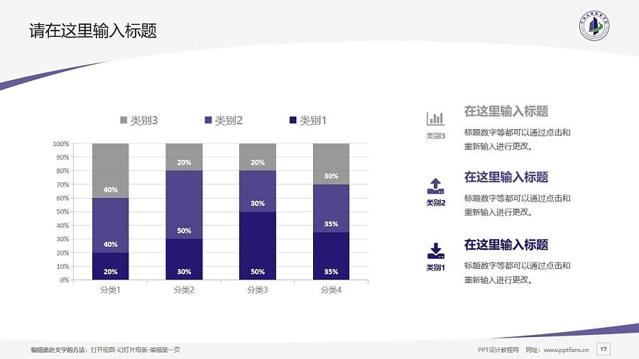 廣州華南商貿職業學院PPT模板下載_幻燈片預覽圖17