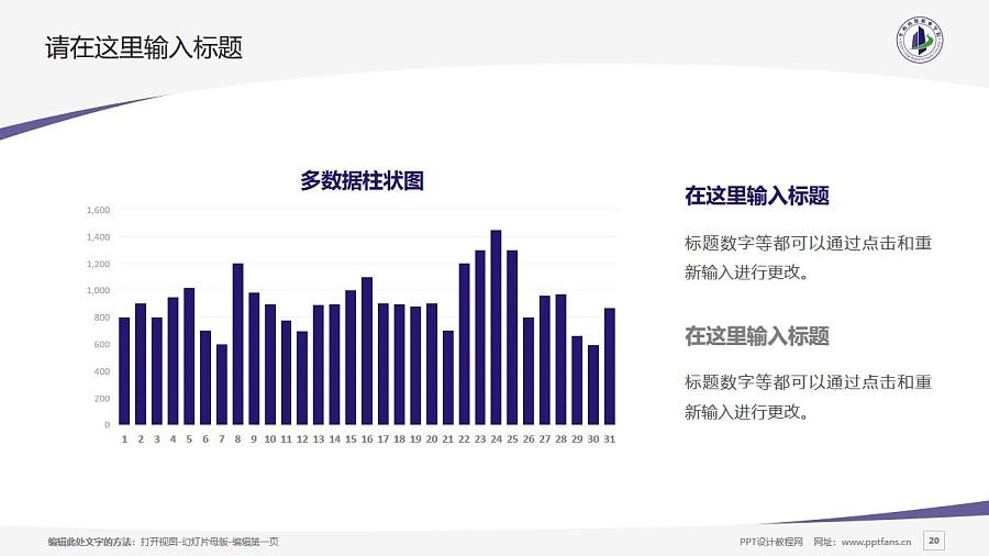 广州华南商贸职业学院PPT模板下载_幻灯片预览图20