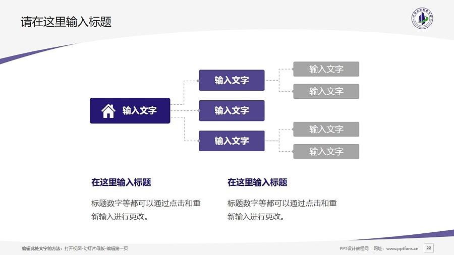 廣州華南商貿職業學院PPT模板下載_幻燈片預覽圖22
