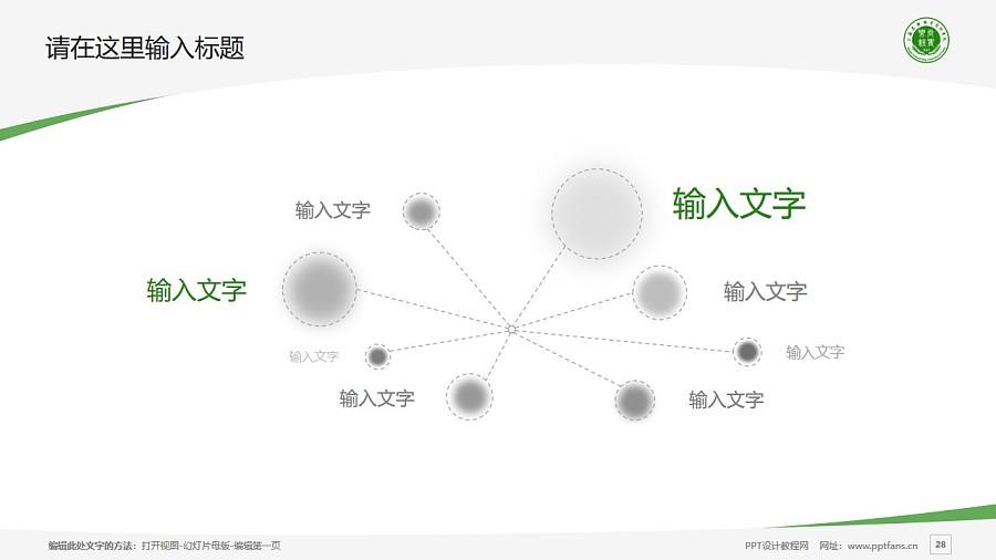 上海农林职业技术学院PPT模板下载_幻灯片预览图28