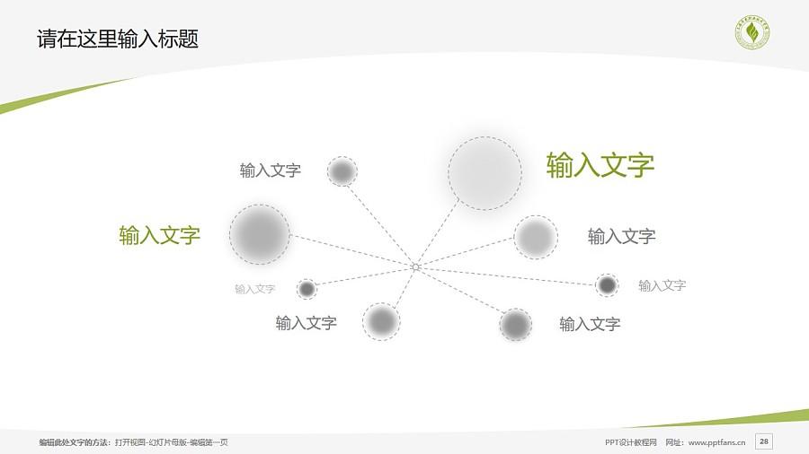 上海济光职业技术学院PPT模板下载_幻灯片预览图28