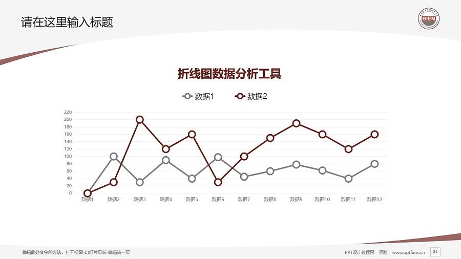 北京经济管理职业学院PPT模板下载_幻灯片预览图21