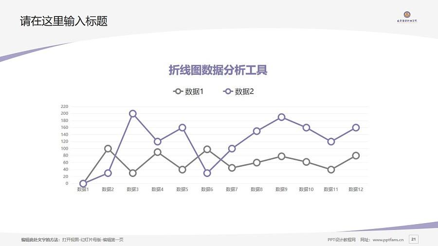 北京经贸职业学院PPT模板下载_幻灯片预览图21