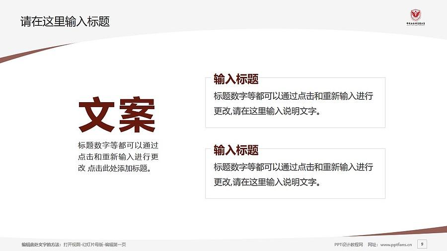 中国社会科学院大学PPT模板下载_幻灯片预览图9