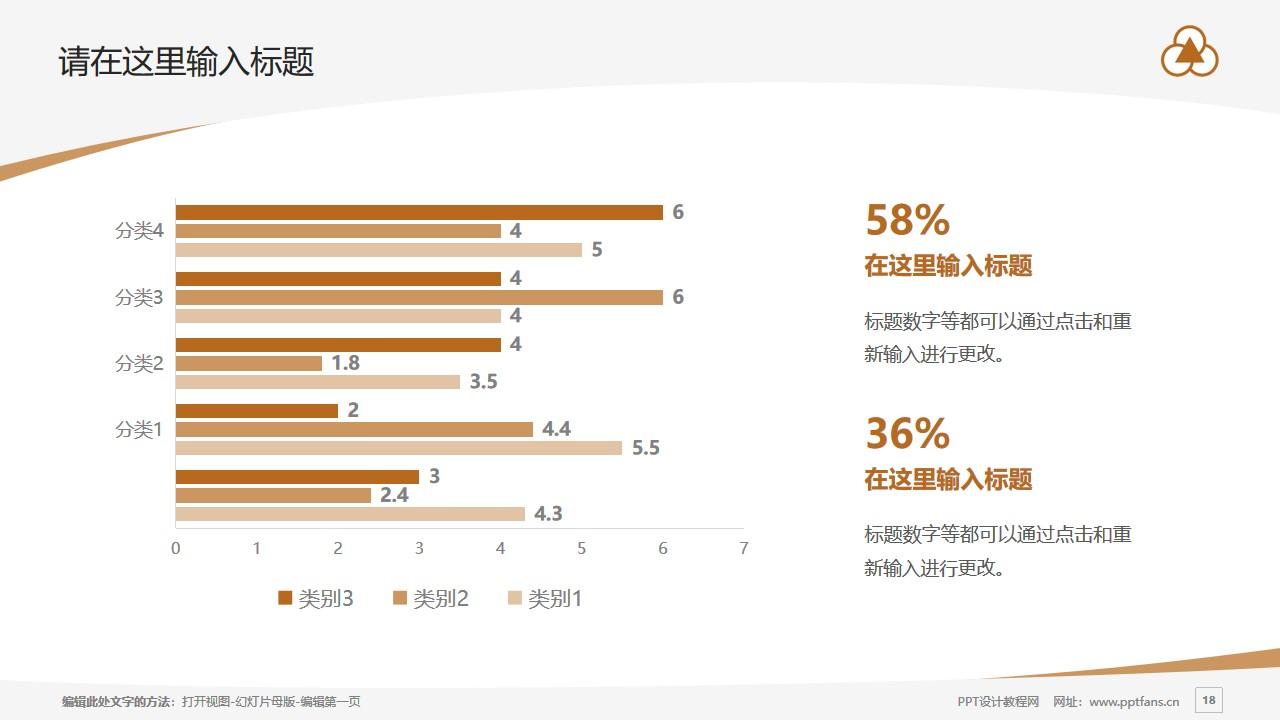 上海中华职业技术学院PPT模板下载_幻灯片预览图18