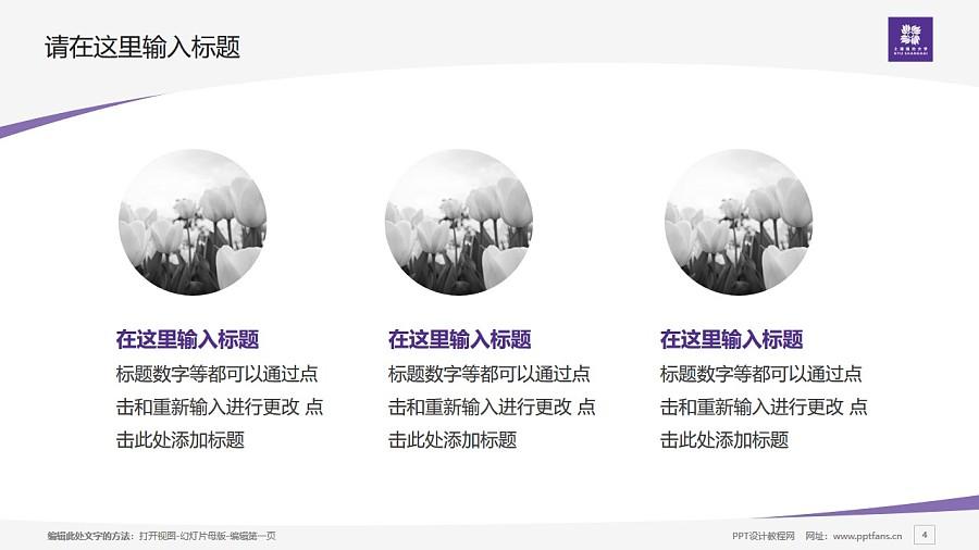 上海纽约大学PPT模板下载_幻灯片预览图4