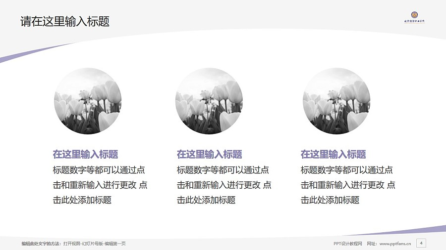 北京经贸职业学院PPT模板下载_幻灯片预览图4