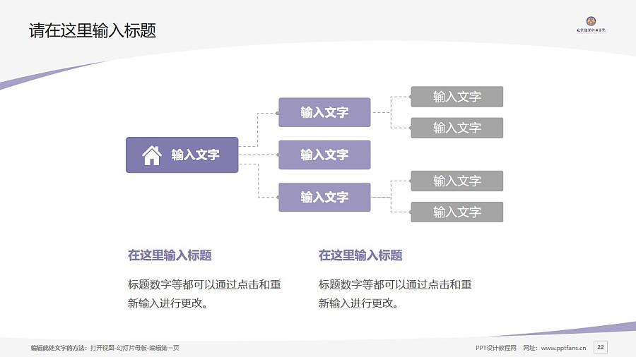北京经贸职业学院PPT模板下载_幻灯片预览图22
