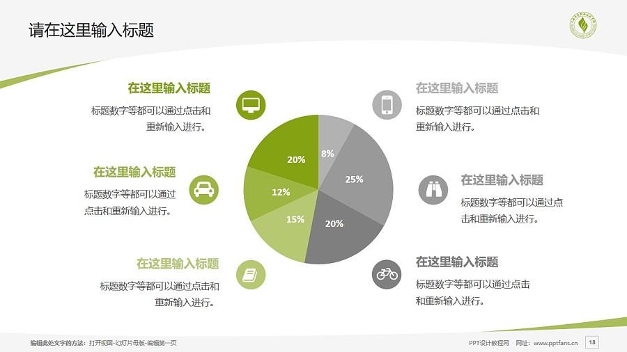 上海济光职业技术学院PPT模板下载_幻灯片预览图13
