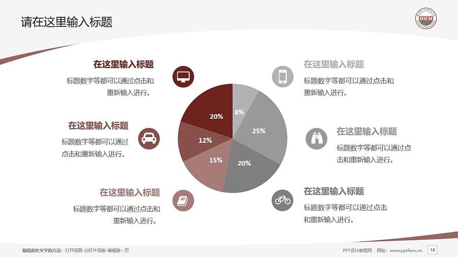 北京经济管理职业学院PPT模板下载_幻灯片预览图13