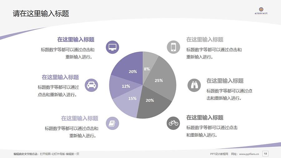 北京经贸职业学院PPT模板下载_幻灯片预览图13