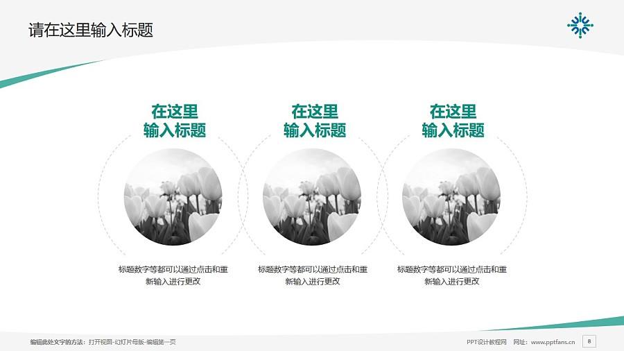 北京师范大学-香港浸会大学联合国际学院PPT模板下载_幻灯片预览图8