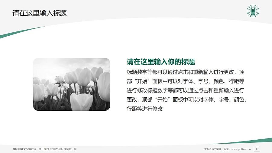 青岛农业大学PPT模板下载_幻灯片预览图5