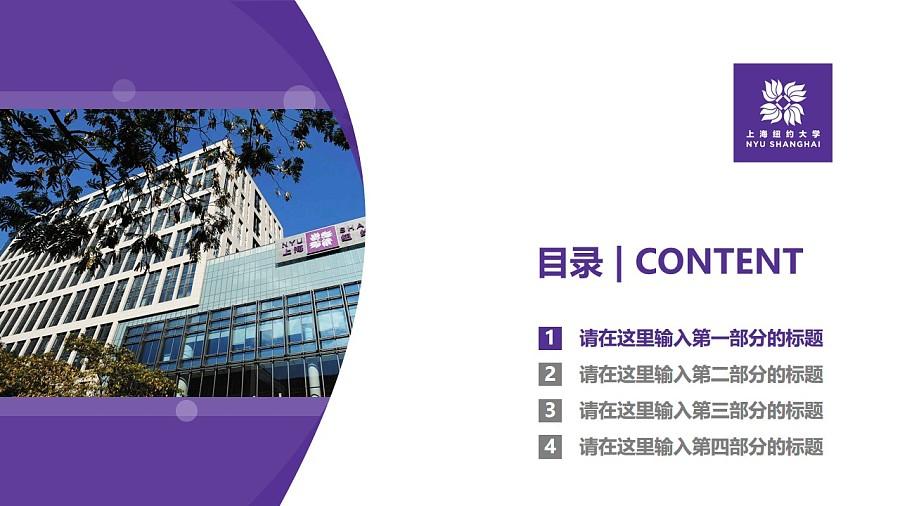 上海纽约大学PPT模板下载_幻灯片预览图3