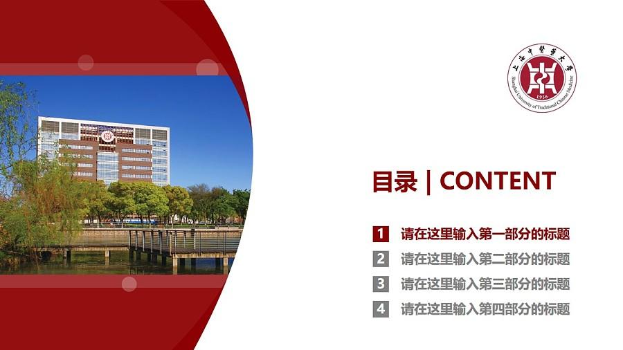 上海中医药大学PPT模板下载_幻灯片预览图3