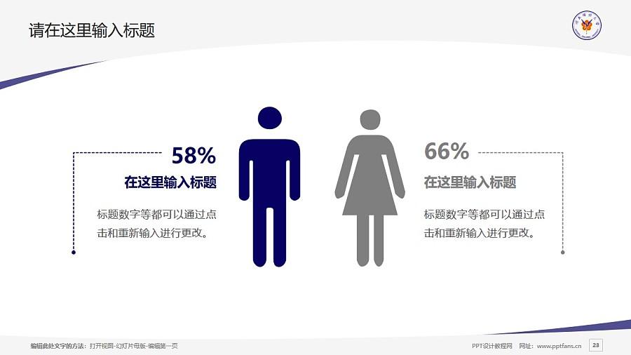 台湾阳明大学PPT模板下载_幻灯片预览图23