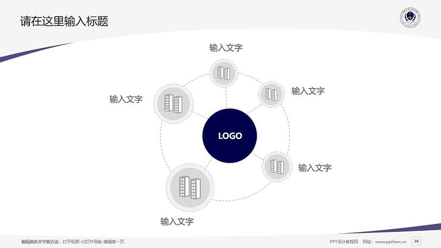 中国人民公安大学PPT模板下载_幻灯片预览图26