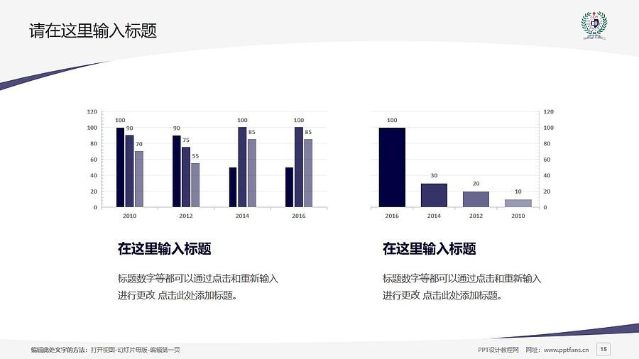 台湾辅仁大学PPT模板下载_幻灯片预览图15