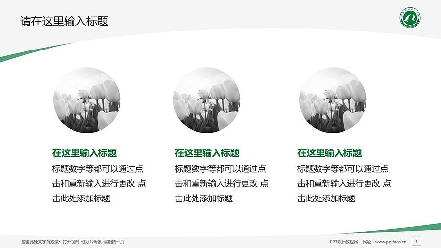 宁夏职业技术学院PPT模板下载_幻灯片预览图4