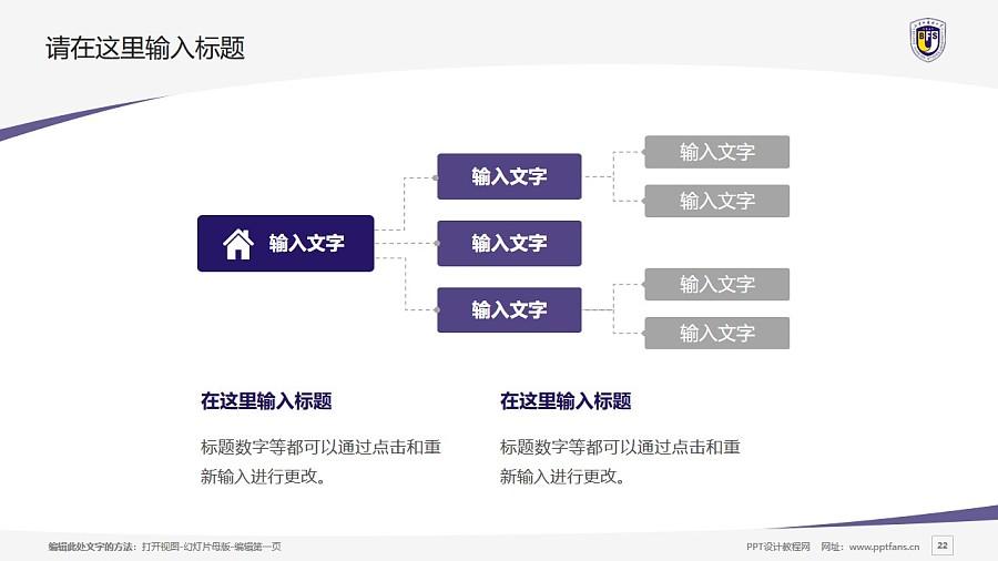 北京外国语大学PPT模板下载_幻灯片预览图22
