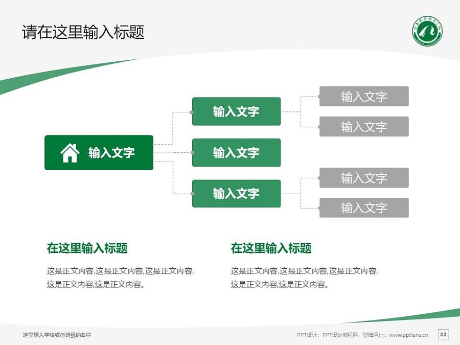 宁夏职业技术学院PPT模板下载_幻灯片预览图22