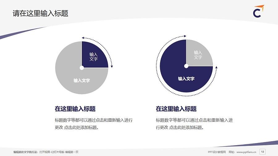 香港专业进修学校PPT模板下载_幻灯片预览图12