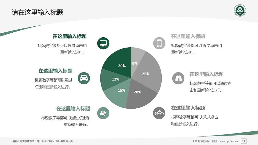 北京林业大学PPT模板下载_幻灯片预览图13