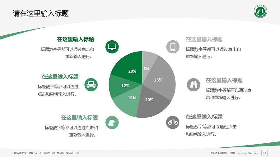 宁夏职业技术学院PPT模板下载_幻灯片预览图13