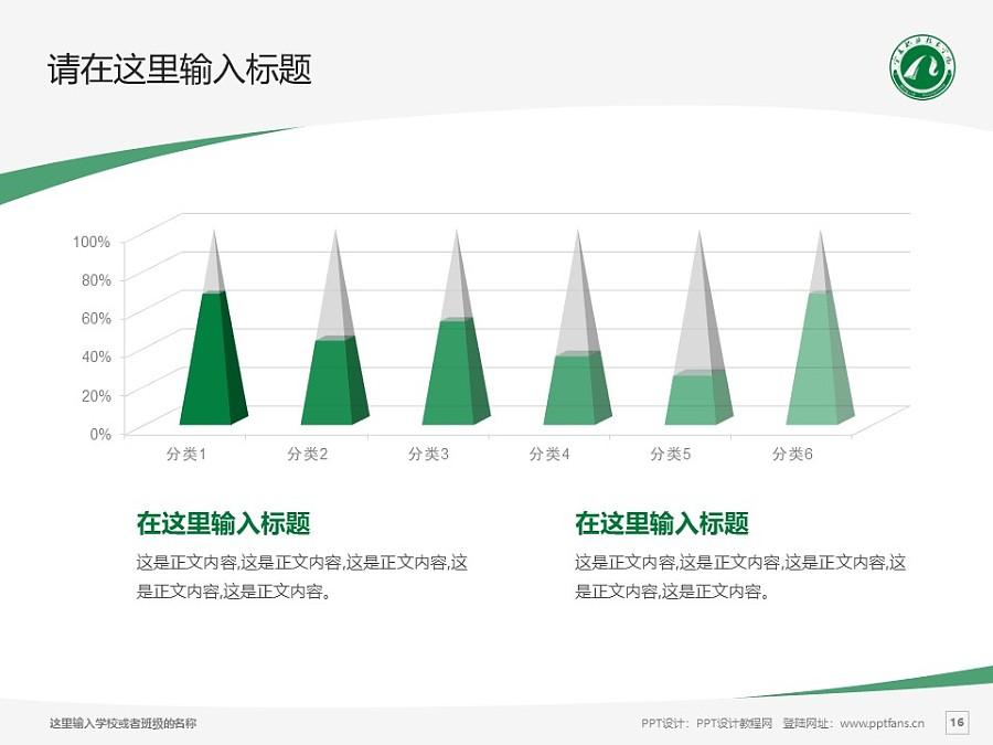 宁夏职业技术学院PPT模板下载_幻灯片预览图16