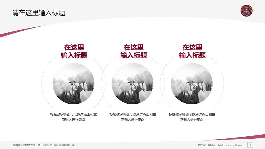 和田师范专科学校PPT模板下载_幻灯片预览图8