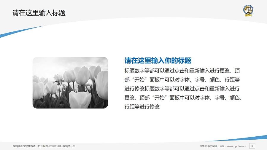 香港大学法律学院PPT模板下载_幻灯片预览图5