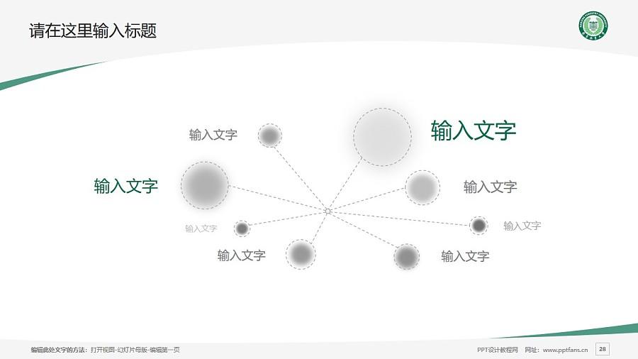 南京林业大学PPT模板下载_幻灯片预览图28