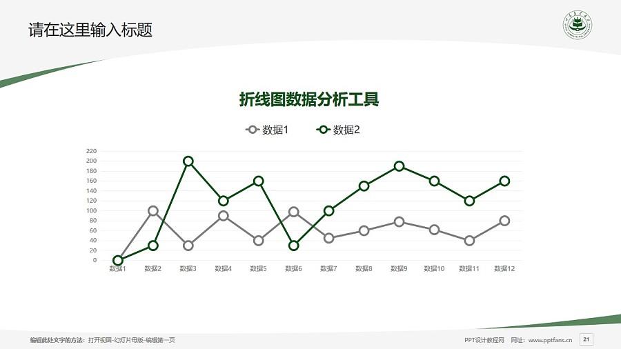 甘肃农业大学PPT模板下载_幻灯片预览图21