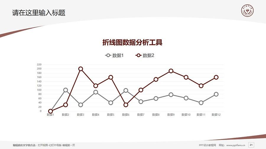 贵州医科大学PPT模板_幻灯片预览图21
