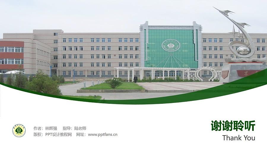 武威职业学院PPT模板下载_幻灯片预览图32