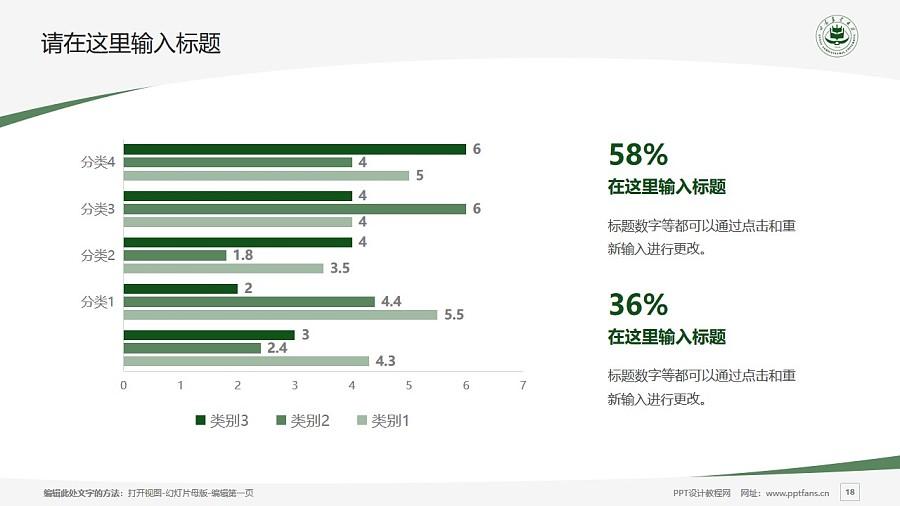 甘肃农业大学PPT模板下载_幻灯片预览图18