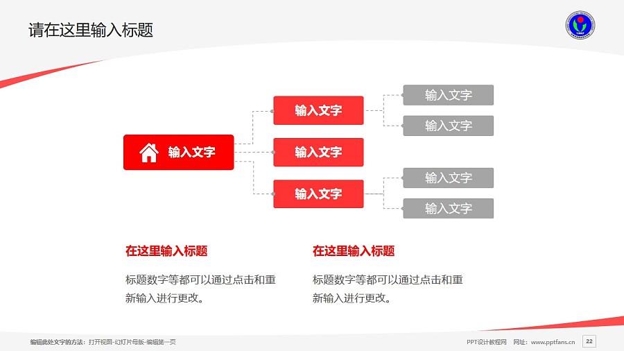 甘肃农业职业技术学院PPT模板下载_幻灯片预览图22