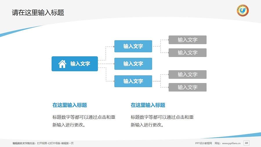 海南外国语职业学院PPT模板下载_幻灯片预览图22