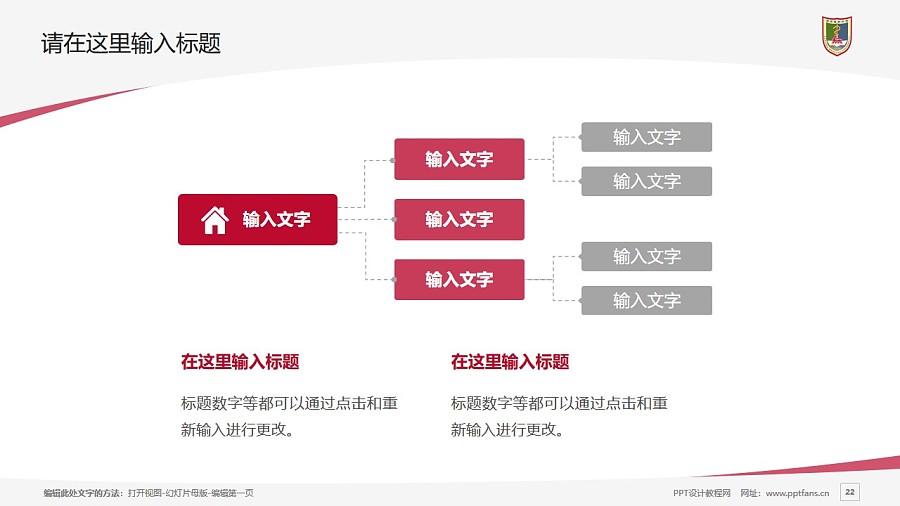南京医科大学PPT模板下载_幻灯片预览图22
