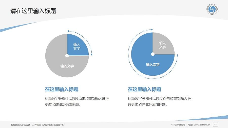 海南软件职业技术学院PPT模板下载_幻灯片预览图12