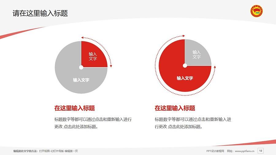 海南政法职业学院PPT模板下载_幻灯片预览图12