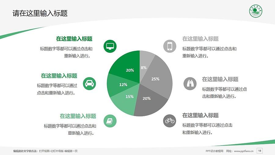 青海民族大学PPT模板下载_幻灯片预览图13