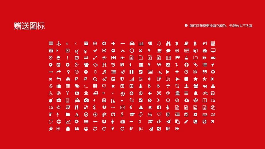 三亚航空旅游职业学院PPT模板下载_幻灯片预览图34