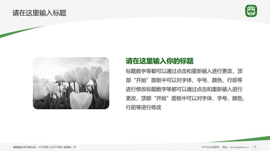 南京师范大学PPT模板下载_幻灯片预览图5