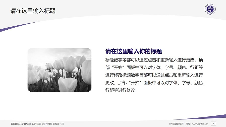 科尔沁艺术职业学院PPT模板下载_幻灯片预览图5
